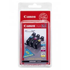Inkoust Canon cartridge CLI-526 C/M/Y Pack (CLI526CMY)