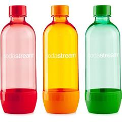 Láhev Sodastream TriPack 1l orange/red/green